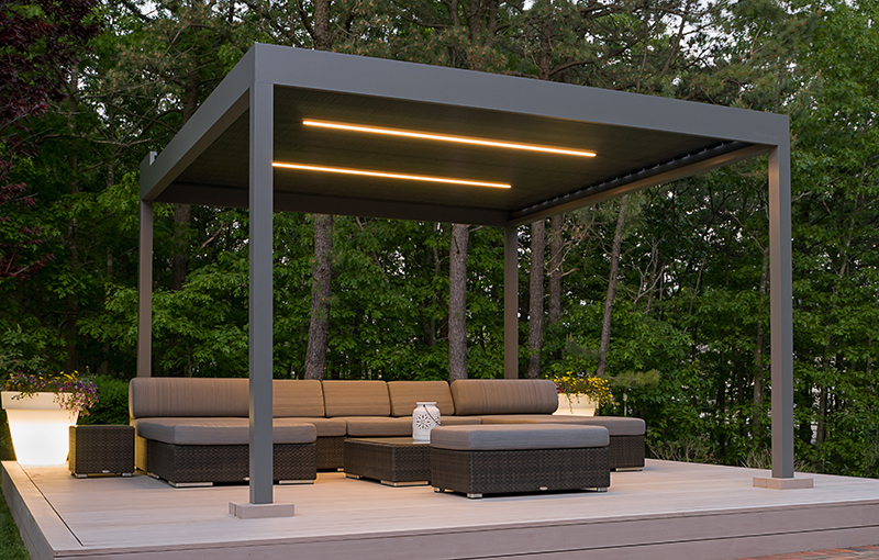 Shades Of Perfection Markilux Pergola 110 Retractable Roof Cover